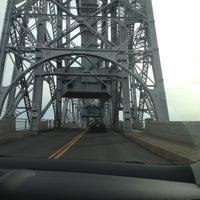 Photo taken at Duluth Lift Bridge by Julie B. on 10/14/2012