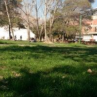 Photo taken at Escuela de Construcción Civil UC by Ethann S. on 8/8/2014