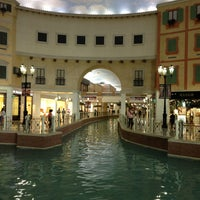 Photo taken at Villaggio Mall by Wajeeha H. on 5/14/2013