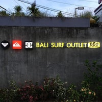 Photo taken at Bali Surf Outlet (BSO) by Katrina Monique M. on 6/10/2015