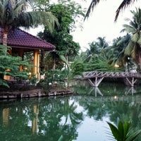 Photo taken at Baan Thai House Homestay by Maddalena P. on 4/22/2014