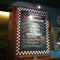 Photo taken at Edison's Pub by Jeff S. on 5/11/2012