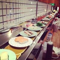 Photo taken at Kulu Kulu Sushi by Pares T. on 3/26/2013