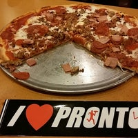 Photo taken at Pronto Pizza by William on 5/23/2014