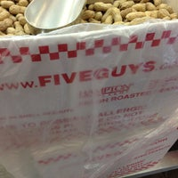 Photo taken at Five Guys by Maria B. on 7/19/2013