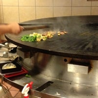 Photo taken at Genghis Grill by La Nard B. on 9/28/2012
