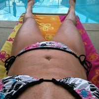 Photo taken at Sawmill Woods Condos Pool by Krystal S. on 8/3/2013