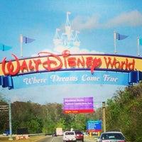 Photo taken at Walt Disney World Entrance by Daniel A. on 2/22/2013