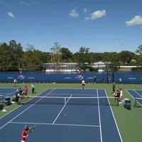 Photo taken at Practice Courts (1-5) - USTA Billie Jean King National Tennis Center by Sasha G. on 9/2/2016
