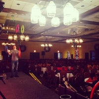 Photo taken at Parkway Plaza Hotel & Convention Centre by Jeff C. on 12/14/2013