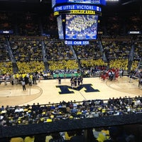 Photo taken at Crisler Center by Peter W. on 1/10/2013