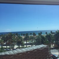Photo taken at Hotel Blaumar by Aude R. on 8/26/2016