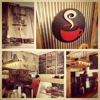 Photo taken at The Corner Perk Cafe, Dessert Bar, and Coffee Roasters by Daniel G. on 7/20/2013