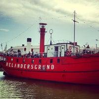 Photo taken at Lightship Relandersgrund by Sansuda P. on 10/22/2013