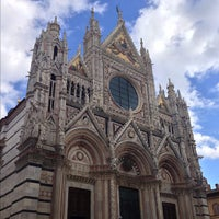 Photo taken at Duomo di Siena by Alex B. on 11/1/2012