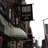 Photo taken at Oro Bakery and Bar by excitable h. on 8/18/2013