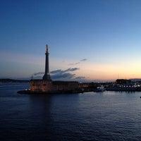 Photo taken at Porto di Messina by Raphael T H. on 10/14/2012