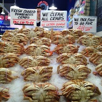 Photo taken at Pike Place Fish Market by ActionJoJo .. on 8/16/2013