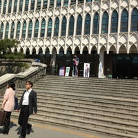 Photo taken at Yonsei University Student Union by Michael H. on 5/1/2013