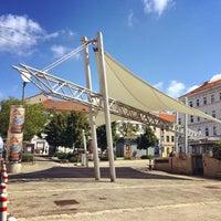 Photo taken at Dornerplatz by hc v. on 8/21/2014
