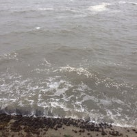 Photo taken at Cullercoats Beach by Paul N. on 9/17/2014
