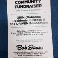 Photo taken at Bob Evans Restaurant by Alex G. on 1/5/2014