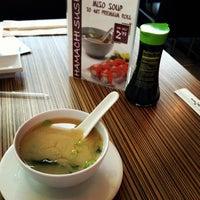 Photo taken at Hamachi Sushi by Tung P. on 12/11/2012