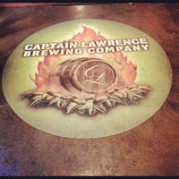 Photo taken at Captain Lawrence Brewing Company by Kevin B. on 10/27/2012