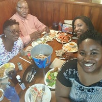 Photo taken at Crabby George's Seafood Buffet by Melissa M. on 5/28/2016