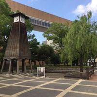 Photo taken at 江東区立 深川図書館 by ふわふわ on 7/18/2016