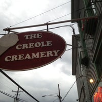 Photo taken at Creole Creamery by Clint D. on 4/28/2013