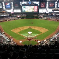 Photo taken at Chase Field by Anna T. on 5/12/2013