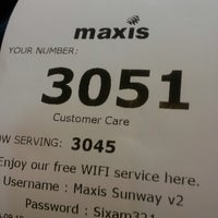 Photo taken at Maxis Centre by Hisa Q. on 9/19/2014