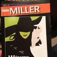 Photo taken at James W. Miller Auditorium by Jeff R. on 4/28/2013