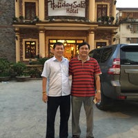 Photo taken at Holiday Sapa Hotel by Nhím G. on 5/27/2015