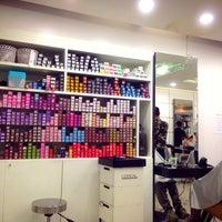 Photo taken at Chic Club Hair Studio by Kritsana P. on 5/8/2014