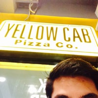 Photo taken at Yellow Cab Pizza Co. by Rogin L. on 8/30/2015
