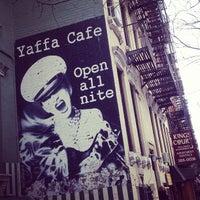 Photo taken at Yaffa Cafe by Latina V. on 2/24/2013