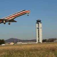 Photo taken at Roanoke-Blacksburg Regional Airport (ROA) by Roanoke-Blacksburg Regional Airport (ROA) on 4/8/2014