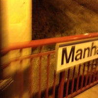 Photo taken at LIRR - Manhasset Station by abby M. on 10/23/2012