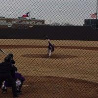 Photo taken at Richardson High School Baseball Field by Kirsten O. on 2/8/2014