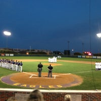 Photo taken at Richardson High School Baseball Field by Kirsten O. on 3/15/2013