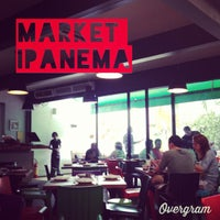 Photo taken at Market Ipanema Café e Restaurante by Lipe B. on 1/19/2013