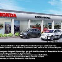 Photo taken at Linkway Honda by Nilesh C. on 4/10/2014