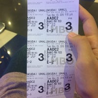 Photo taken at MBO Cinemas by myiera f. on 5/3/2016