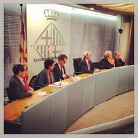 Photo taken at Ajuntament de Barcelona by Xavier T. on 2/28/2013