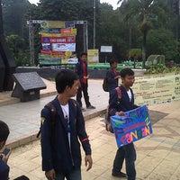 Photo taken at Tugu Kujang Bogor by Andika Khairani A. on 9/29/2012
