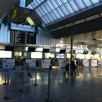Photo taken at Blue Danube Airport Linz (LNZ) by Lenka P. on 10/19/2013