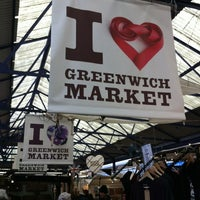 Photo taken at Greenwich Market by Hyewon E. on 11/3/2012