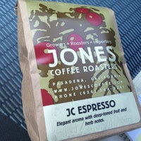 Photo taken at Jones Coffee Roasters by Neal R. on 4/2/2013
